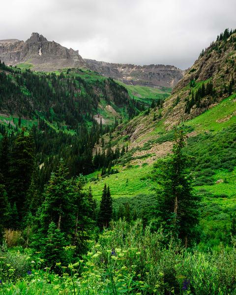 Valley to Governor Basin, Colorado, 2013