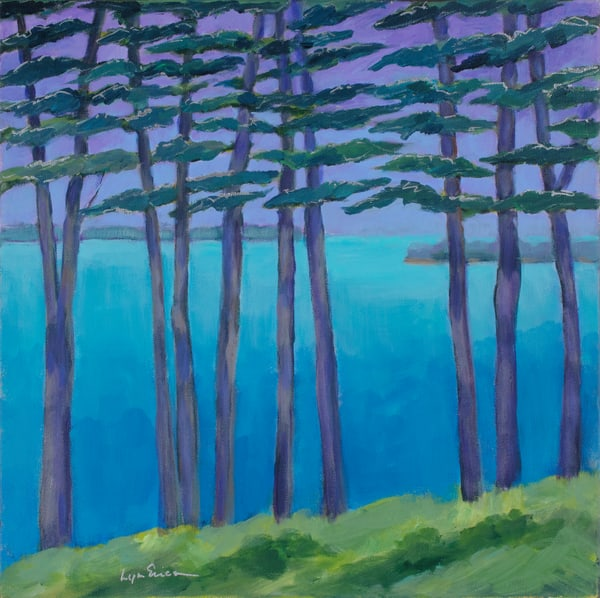 Purple Pines Art | lynnericson-fine-art.com