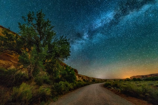 Sand Island Nightscape #1 Photography Art | Carol Brooks Parker Fine Art Photography