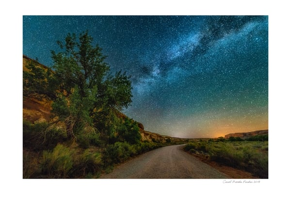 Sand Island Nightscape #1   Signed 2018 Photography Art | Carol Brooks Parker Fine Art Photography