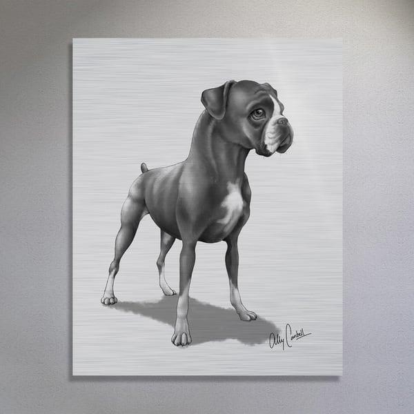 The Champion (Silver Finish) Art | BunnyPigs