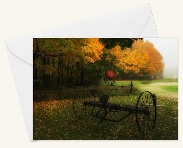The Cart Blank 5x7 Card