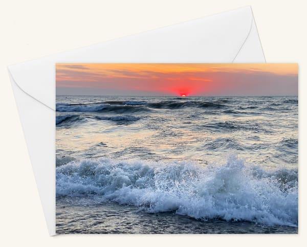 Whitefish Bay Daybreak Blank 5x7 Card