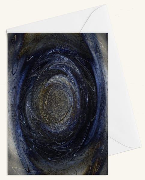 Vorticity Blank 5x7 Card