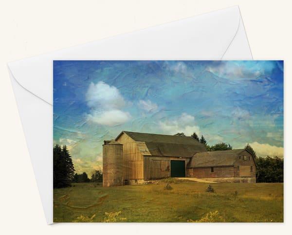 Sunny Farm Blank 5x7 Card