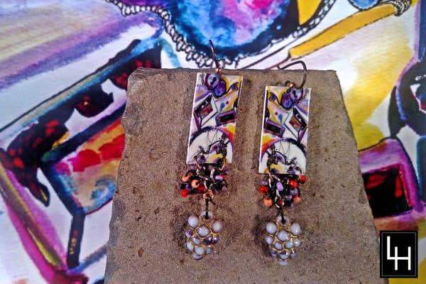 My Mother's Dresser_No. 3 Earrings