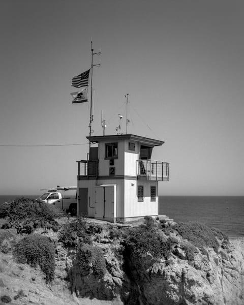 Lifeguard Hq   Leo Carillio Photography Art | Julian Whatley Photography