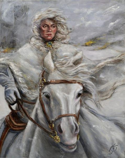 Escape Of Queen Maude Art | Roxana Sinex Art