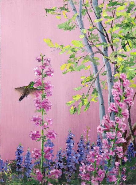 In Mama's Garden 1 Art | Roxana Sinex Art
