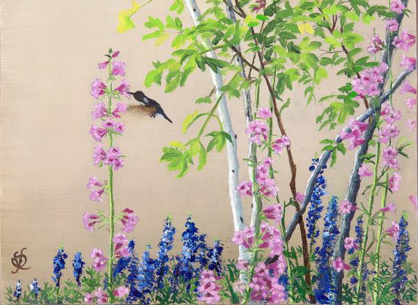 In Mama's Garden 3 Art | Roxana Sinex Art
