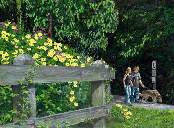 Savage Mill Trail Art   Roxana Sinex Art