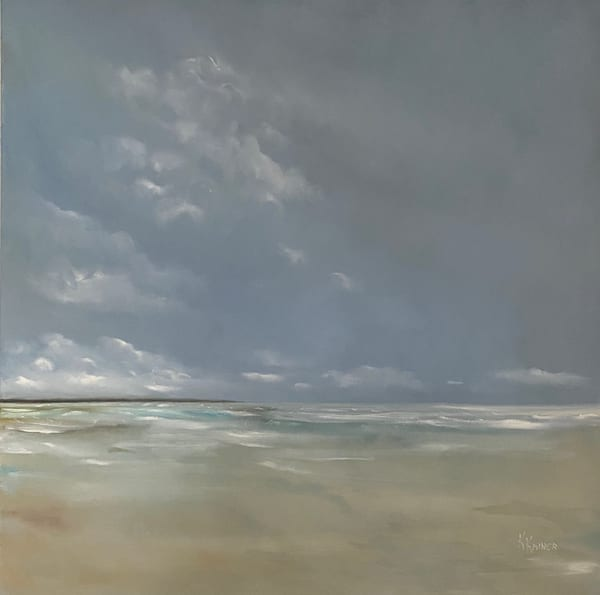 Afternoon Haze by Coastal Artist Kristine Kainer