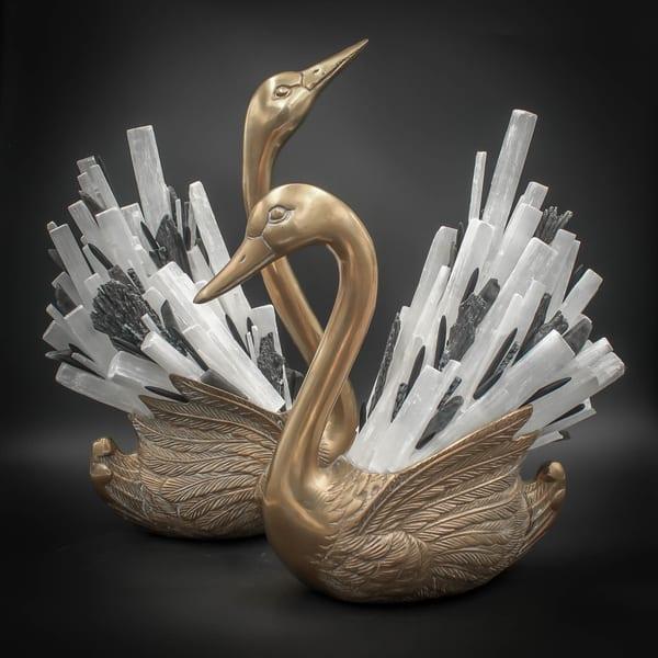 Sandie & Sloane Swan Art | Texas MerMade