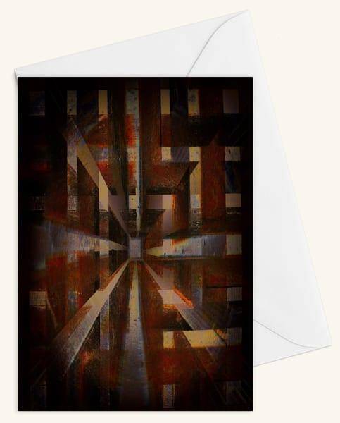 Cubed Blank 5x7 Card