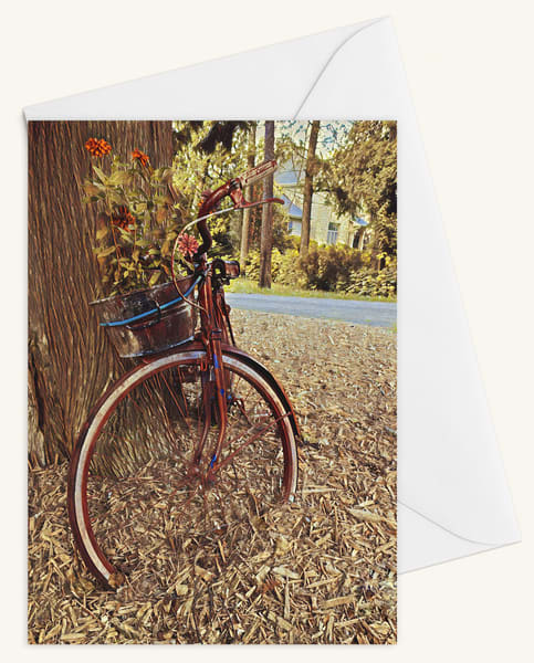 Bicycle Blank 5x7 Card