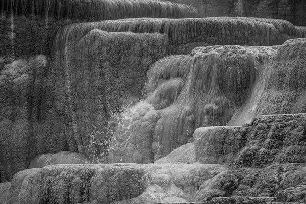 Mammoth Falls  Yellowstone Photography Art | Casey McFarland Photography