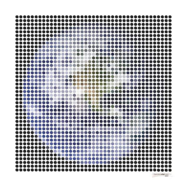 Dots Earth Art | franciscovital.com