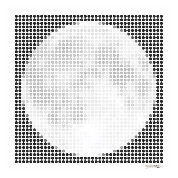 Dots Moon Art | franciscovital.com