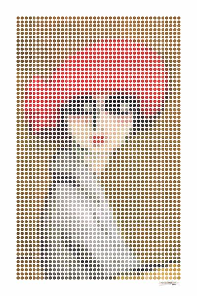 Dots Le Coquelicot Art | franciscovital.com