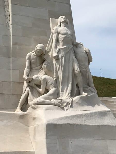 Statue At Vimy Ridge Art | PMELArts