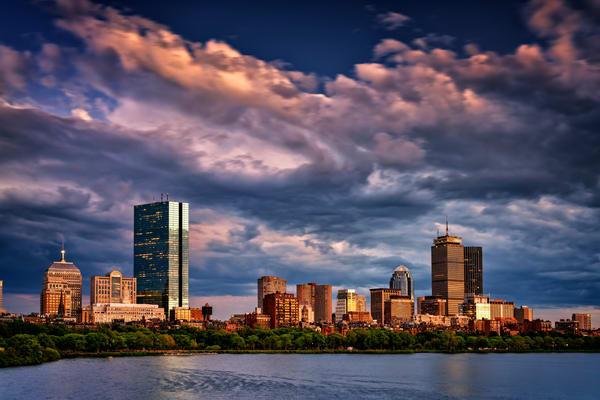 Boston at Dusk | Shop Photography by Rick Berk