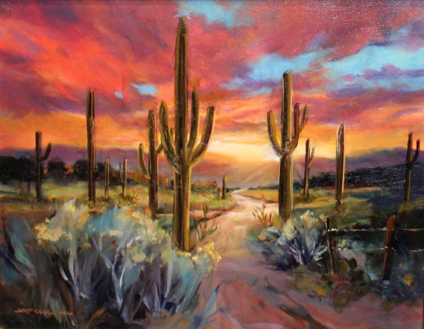 Desert Sunrise Art | Madaras Gallery