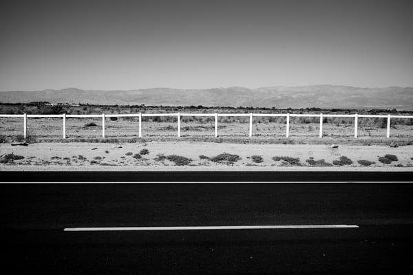 Black and White California Landscapes