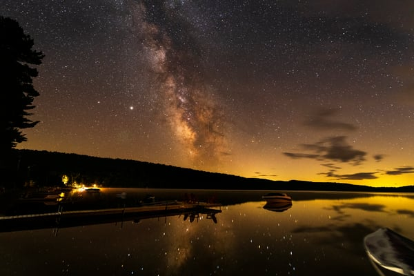Limkiln Lake Milky Way Dock Photography Art | Kurt Gardner Photogarphy Gallery