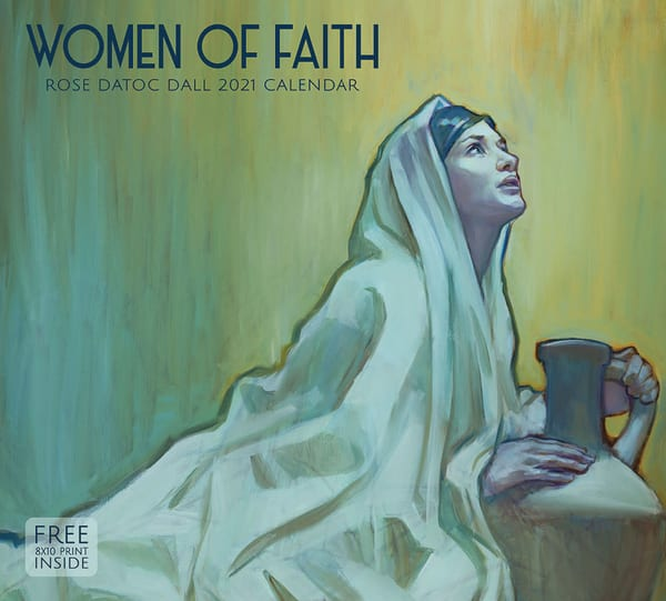 2021 Rose Datoc Dall Calendar  Women Of Faith | Cornerstone Art