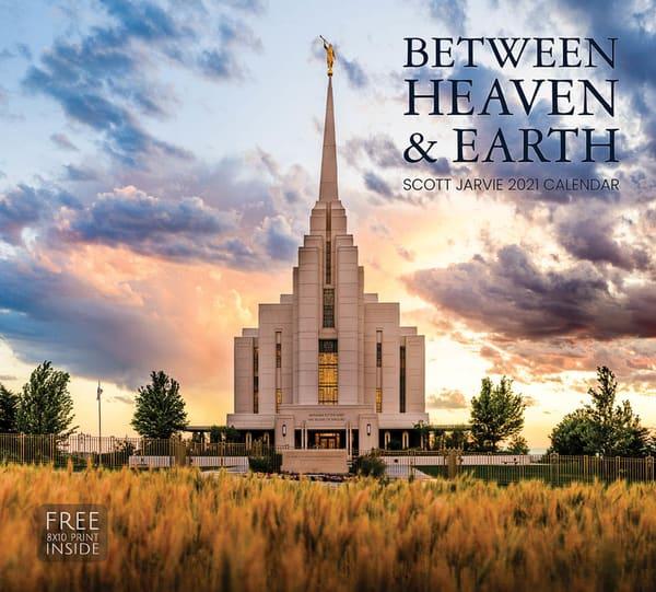 2021 Scott Jarvie Calendar  Between Heaven And Earth | Cornerstone Art