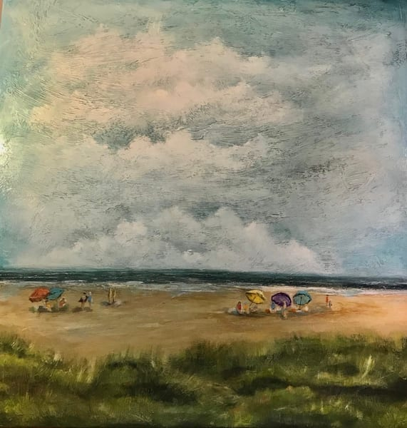 Anna's Beach Art | B Mann Myers Art
