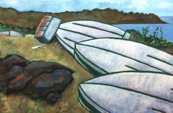 Monhegan Boats Art   Patrick Cosgrove Art and Photography