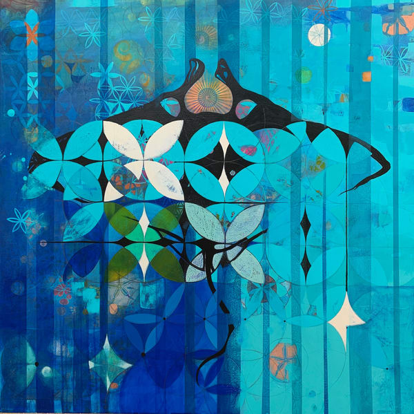Hāhālua   Hawaiian Manta Ray Art | carolmeckling