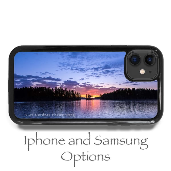 1st Lake Sunrise Phone Case | Kurt Gardner Photogarphy Gallery
