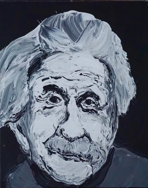 Einstein #3 Art | Lila Lewis Irving
