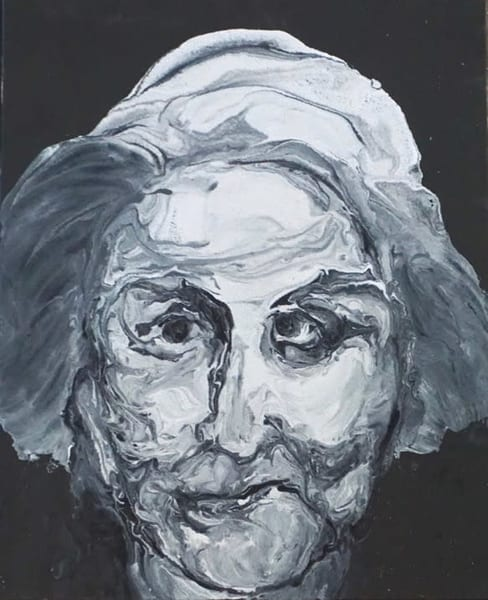 Old Woman 2 Art | Lila Lewis Irving