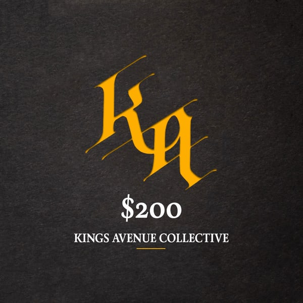 $200 Merch Gift Card | Kings Avenue Tattoo