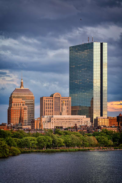 Storm Clouds Over Back Bay | Shop Photography by Rick Berk