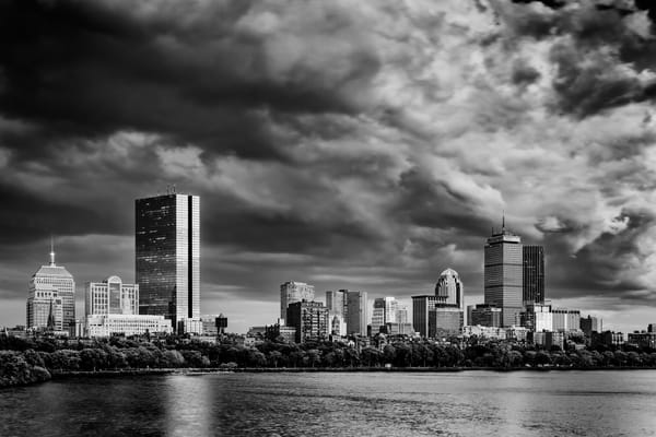 Boston Skyline Monochrome | Shop Photography by Rick Berk