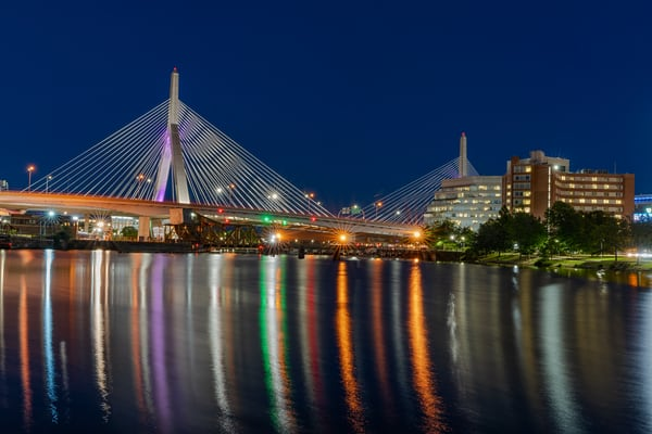 Zakim Bridge August 26 2020 | Shop Photography by Rick Berk
