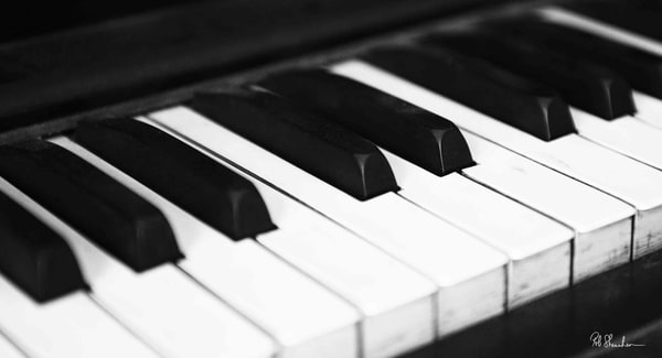 Piano art gallery photo prints by Rob Shanahan