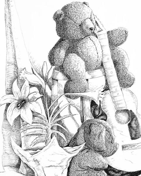 Pig And Bear Art | keithpiccolo