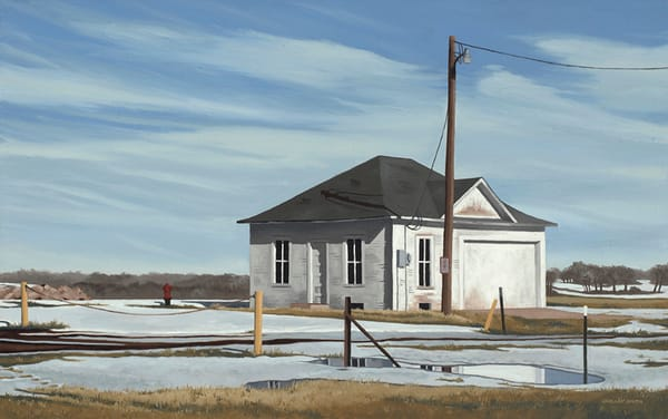 Original Oil Painting | Architecture | Frederick, CO