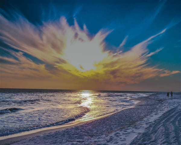 Gulf Shores At Sunset Photography Art | N2 the Woods Photography