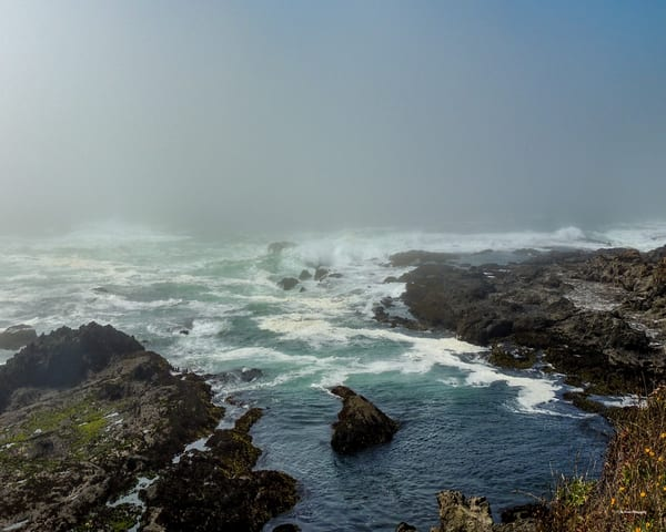 Crashing Waves Photography Art | N2 the Woods Photography