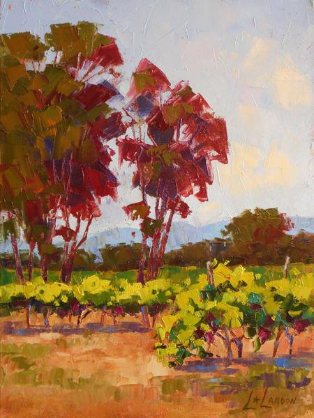 Somewhere Between Sonoma And Napa Art | Linda Star Landon Fine Art