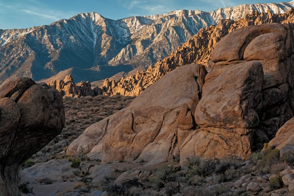 Layers of the Alabama Hills