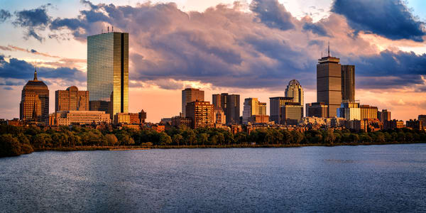 Boston Skyline Panorama | Shop Photography by Rick Berk