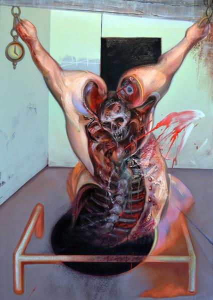 Crucifixion Art   Mathieu Laca