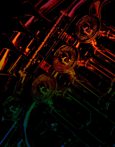 French horns art gallery photo prints by Rob Shanahan